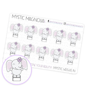 Mystic Weighs In Planner Sticker Sheet