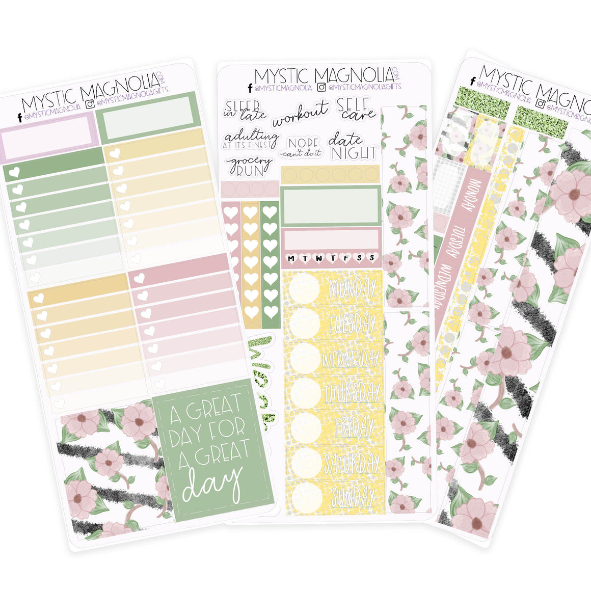 Print Pressions Sticker Kit - Hello Spring