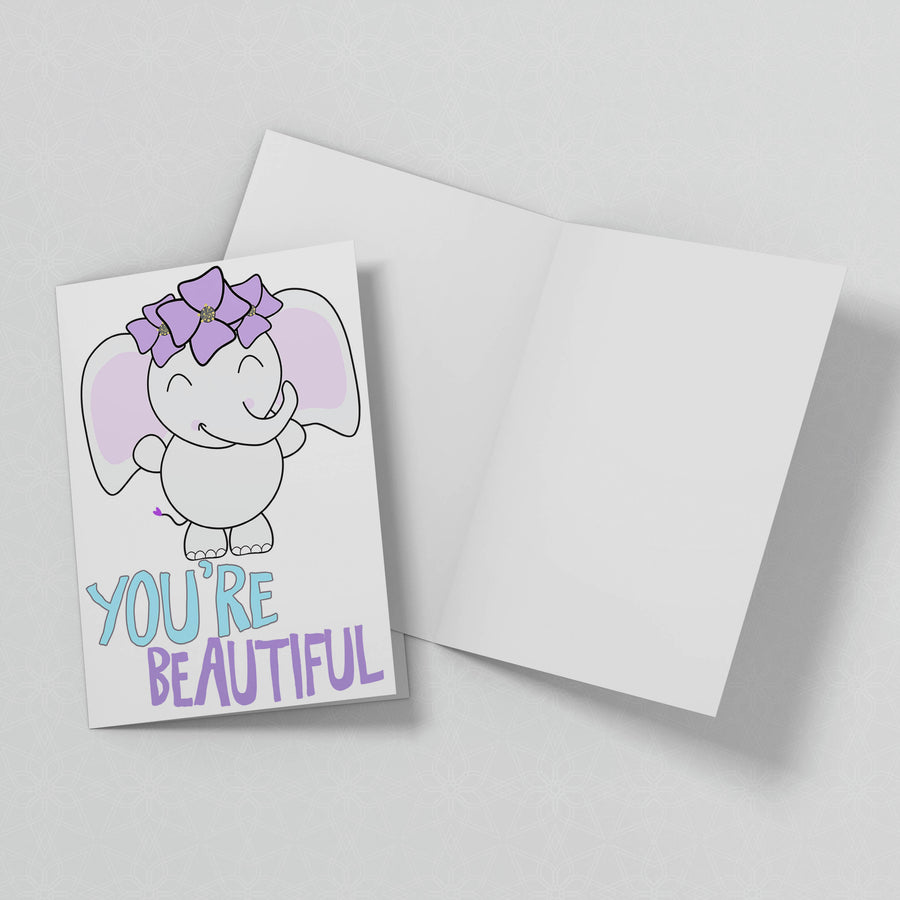 You're Beautiful Greeting Card