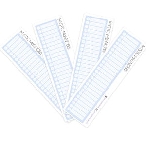 Large Checkboxes - Blue