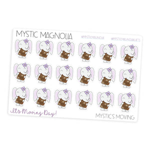 Mystic is Moving - Planner Sticker Sheet