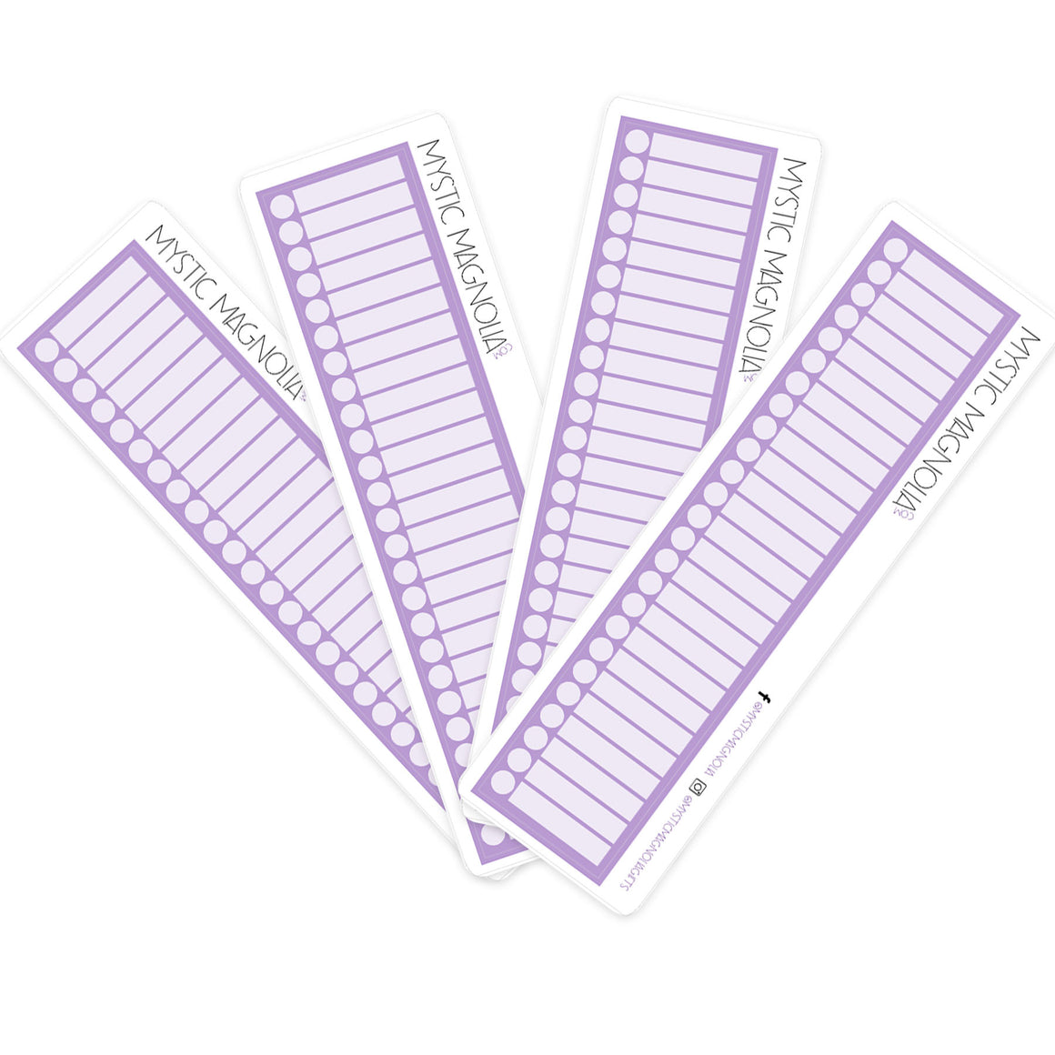 Large Checkboxes - Purple