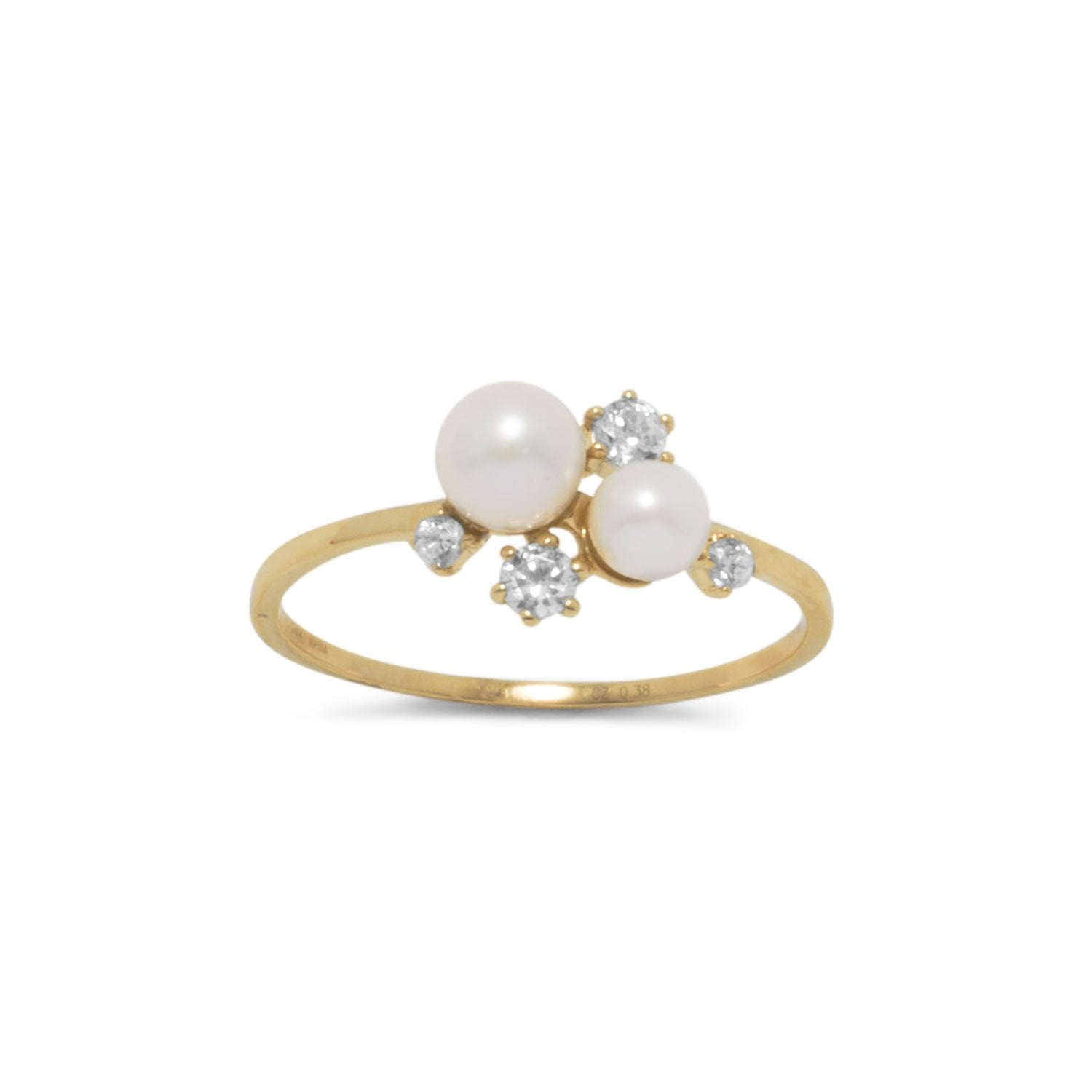 of wedding white top best rings freshwater rated buy engagement pearl gold unique set real ring