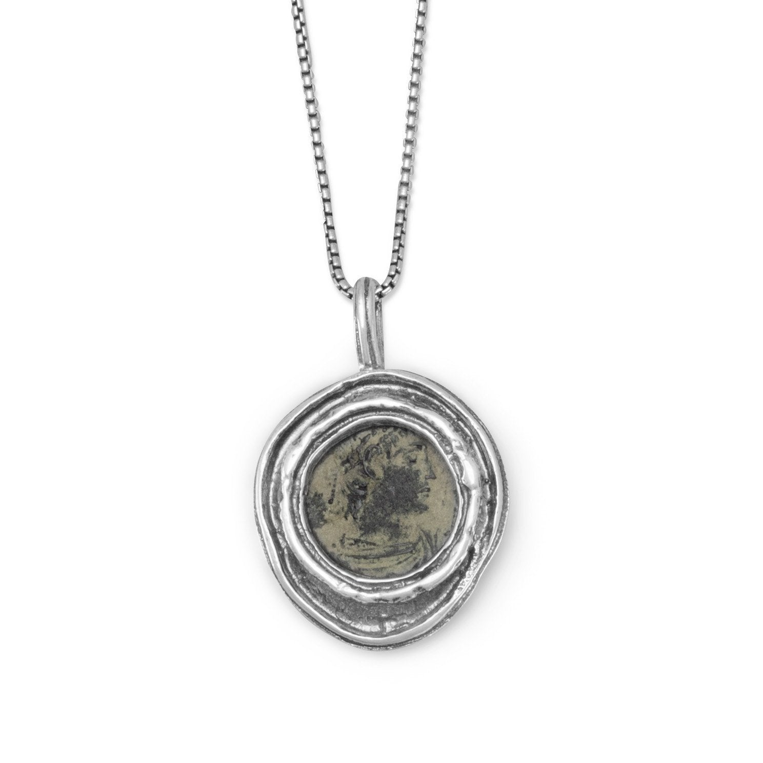 pendants coin roman hb toah of heilbrunn with works gold timeline work art necklace