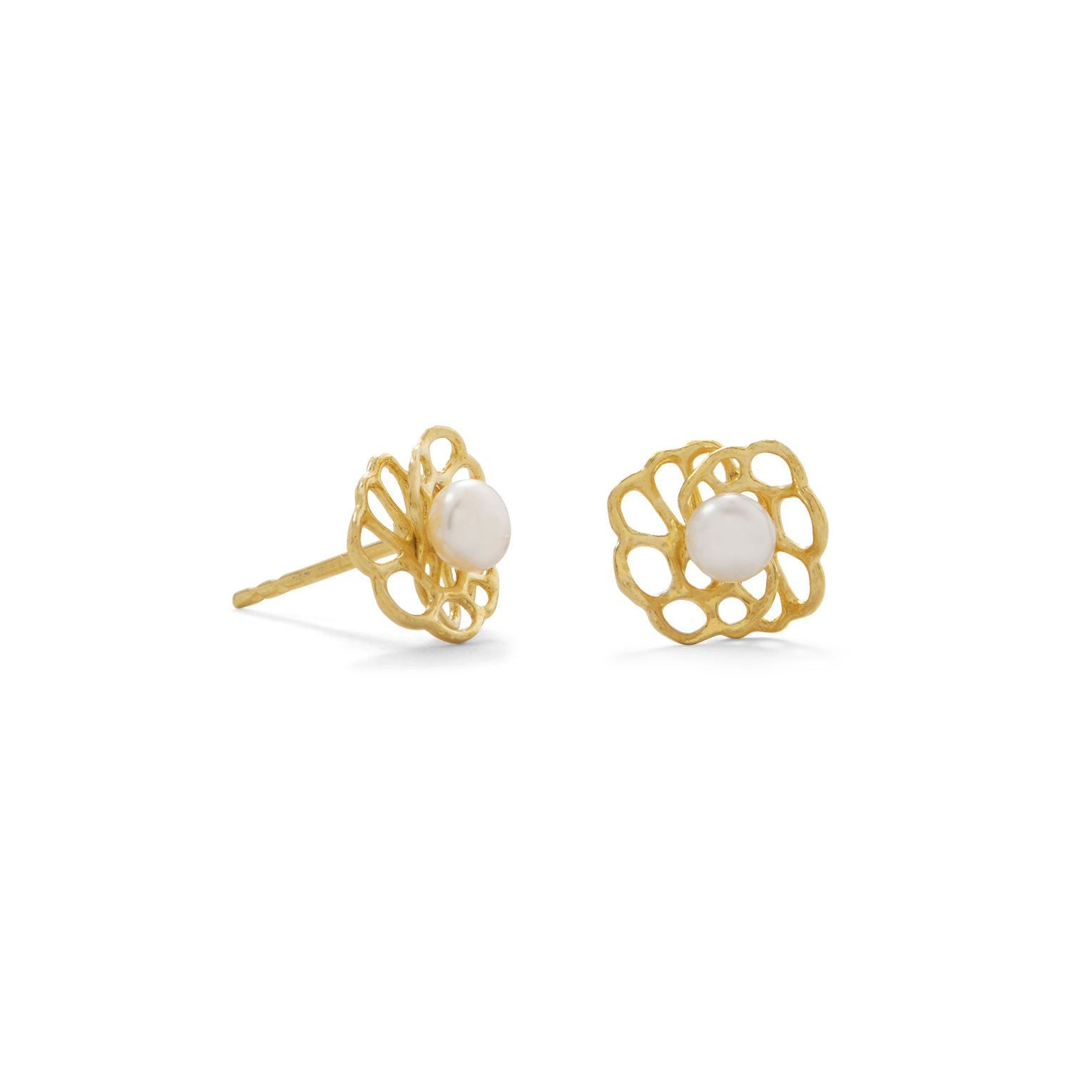 leaves and earring pin products flower designers with designer leaf stud