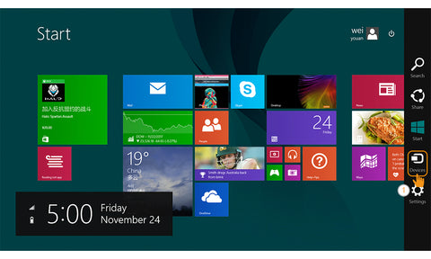 Miracast @ Windows 8 1 - AnyCast