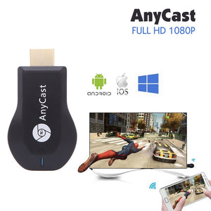 Hot Sale! M2 Plus, Wireless Display Receiver, for AirPlay (iOS11, iPhone, MacBook), Miracast (Android, Windows 8.1) and DLNA
