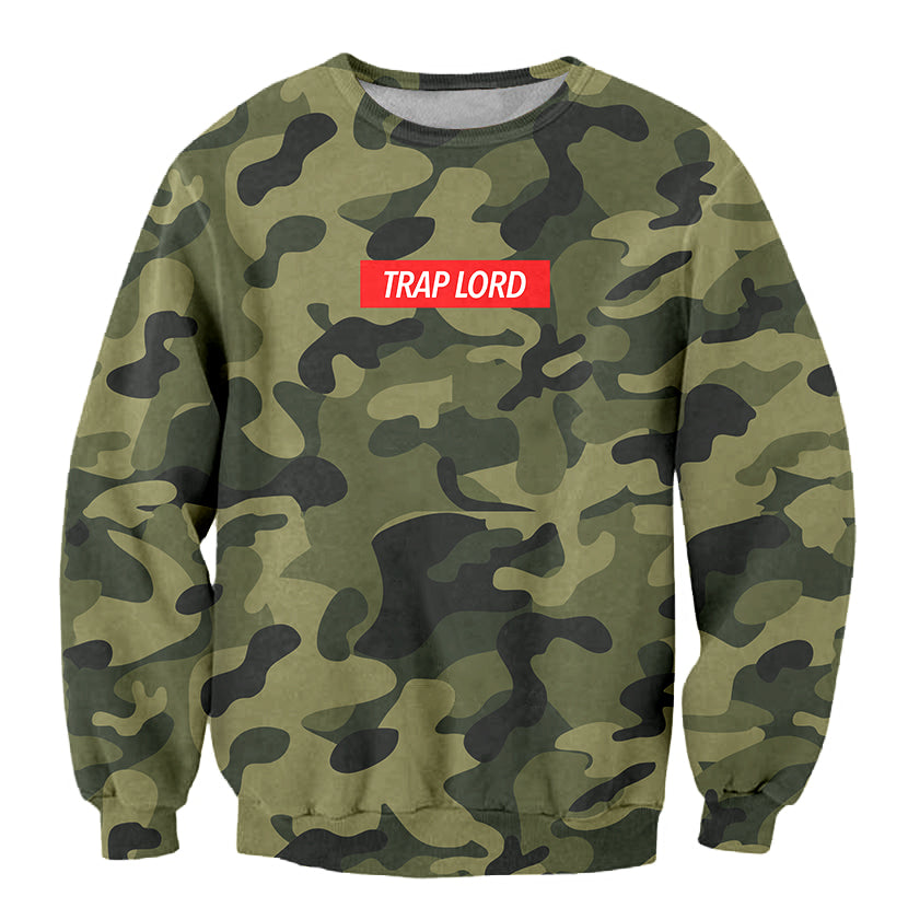 Trap Lord 3D Crewneck