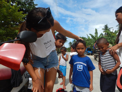 Spread More Smiles launches its movement in Siargao, Philippines