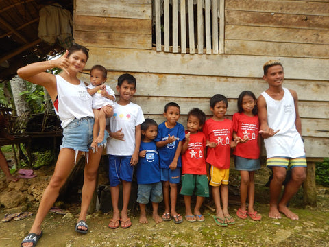 Spread more smiles visited children in different parts of Siargao, Philippines.
