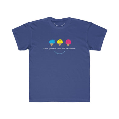 I Smile, You Smile, WE All Smile - Kids Tee