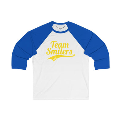 Team Smilers 2018 - 3/4 Sleeve Baseball Tee