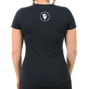 Eleva Women's T-shirt. Black