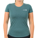 Eleva Women's T-shirt. Forest Green