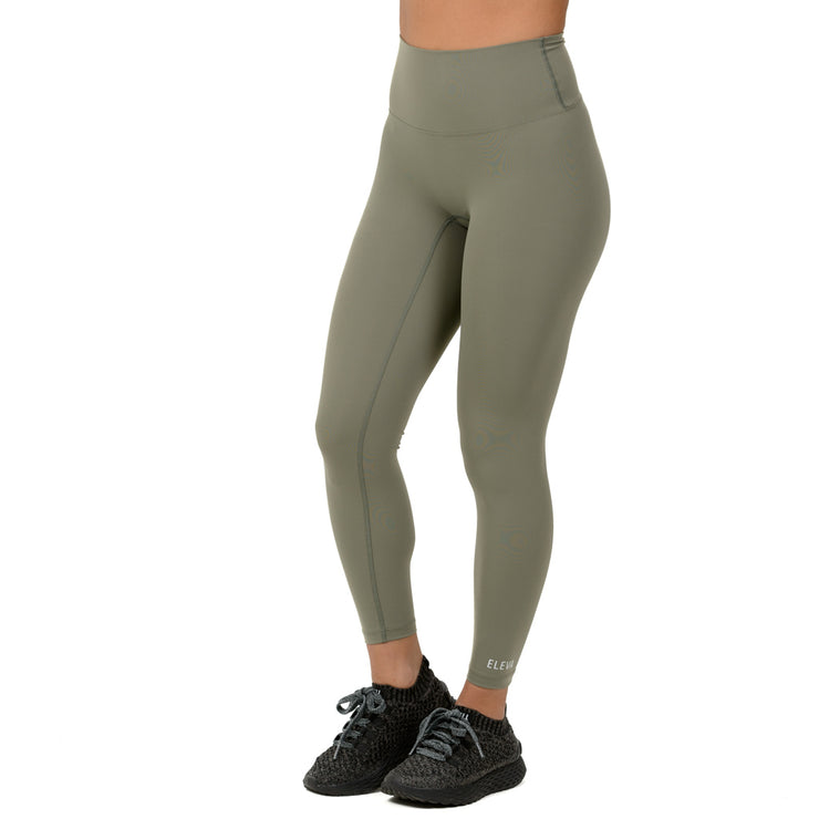 Premium Core Leggings. Olive