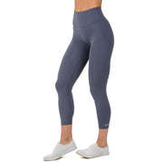 Premium Core Leggings. Steel Blue