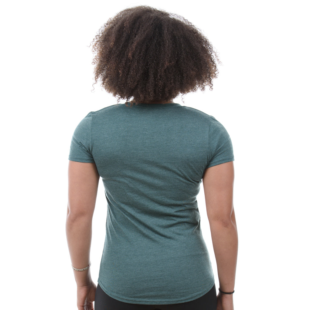 Women's T-Shirt. Forest Green