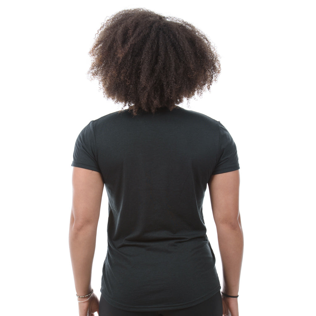Women's Triblend T-Shirt. Black