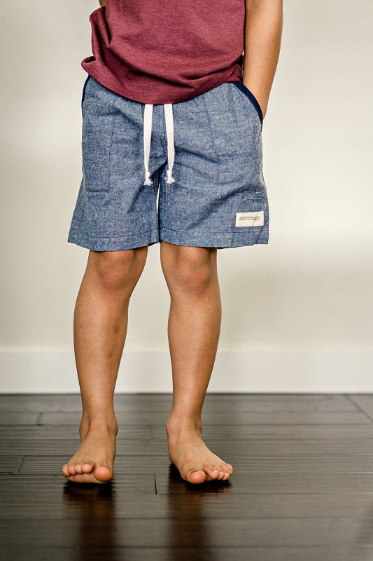 Blue Ridge Chambray Shorts