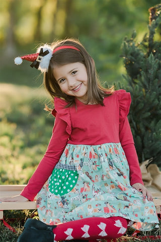 All I Want for Christmas Flutter Dress