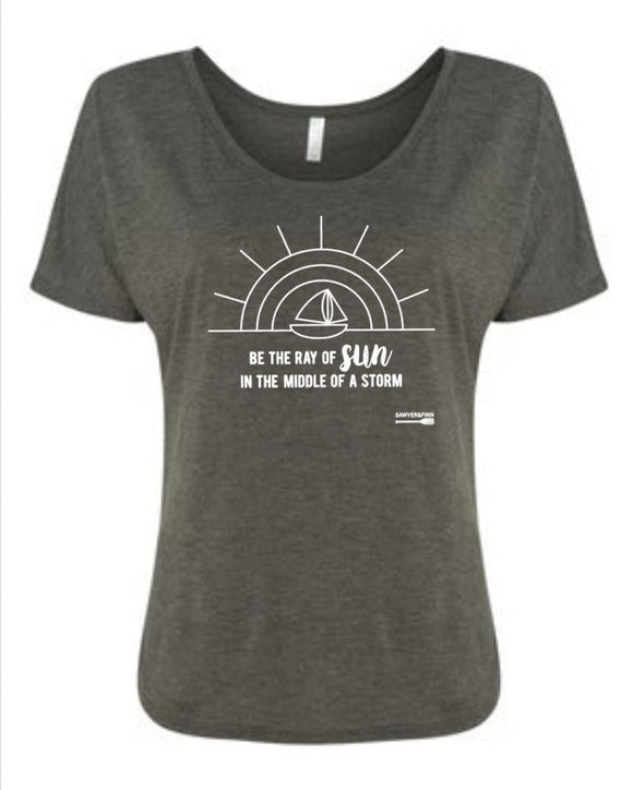 Sunshine in the Storm Mama Tee