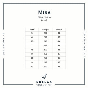 MINA: White (All Genuine Leather)