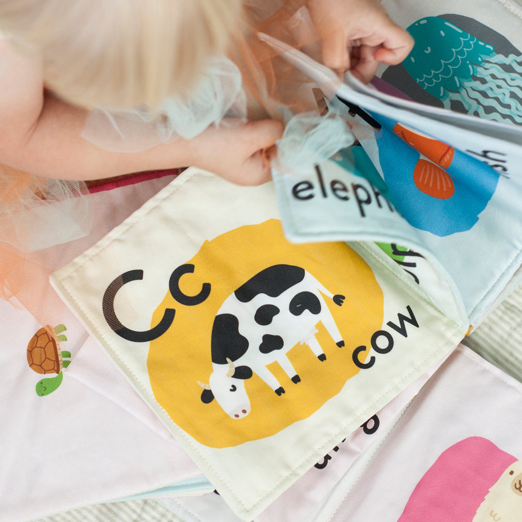 Animal Alphabet Cloth Book