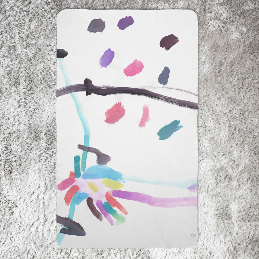 Kids Art Blanket