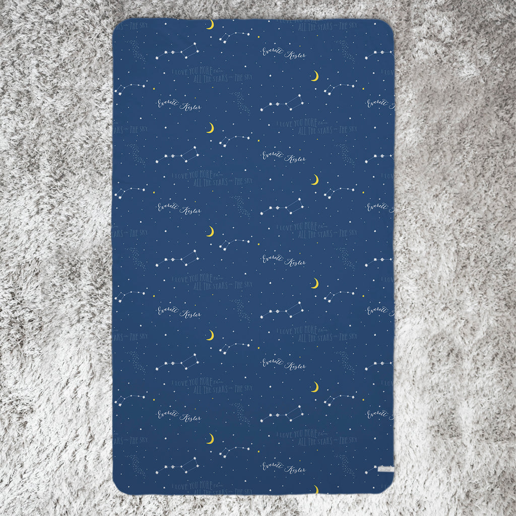 Constellation Pattern Blanket