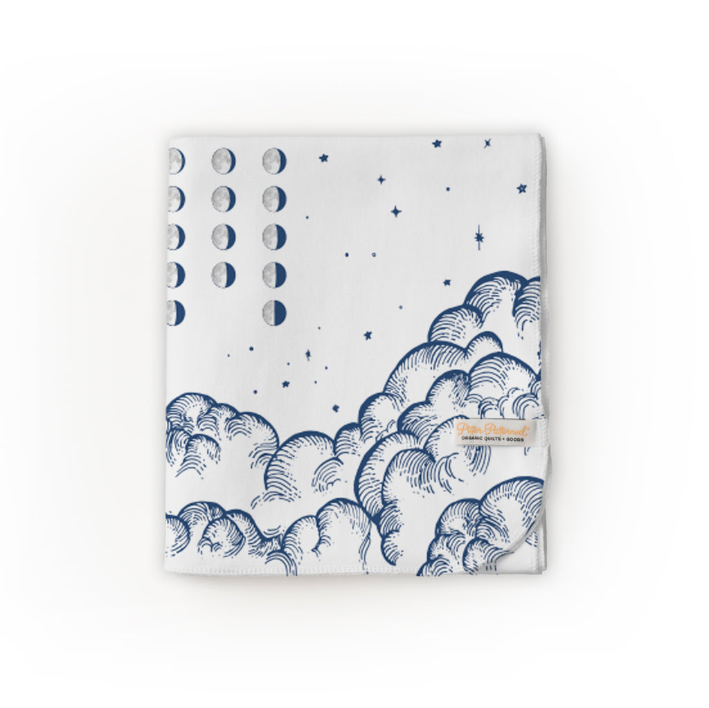 Moon Phase Calendar Blanket - 2019