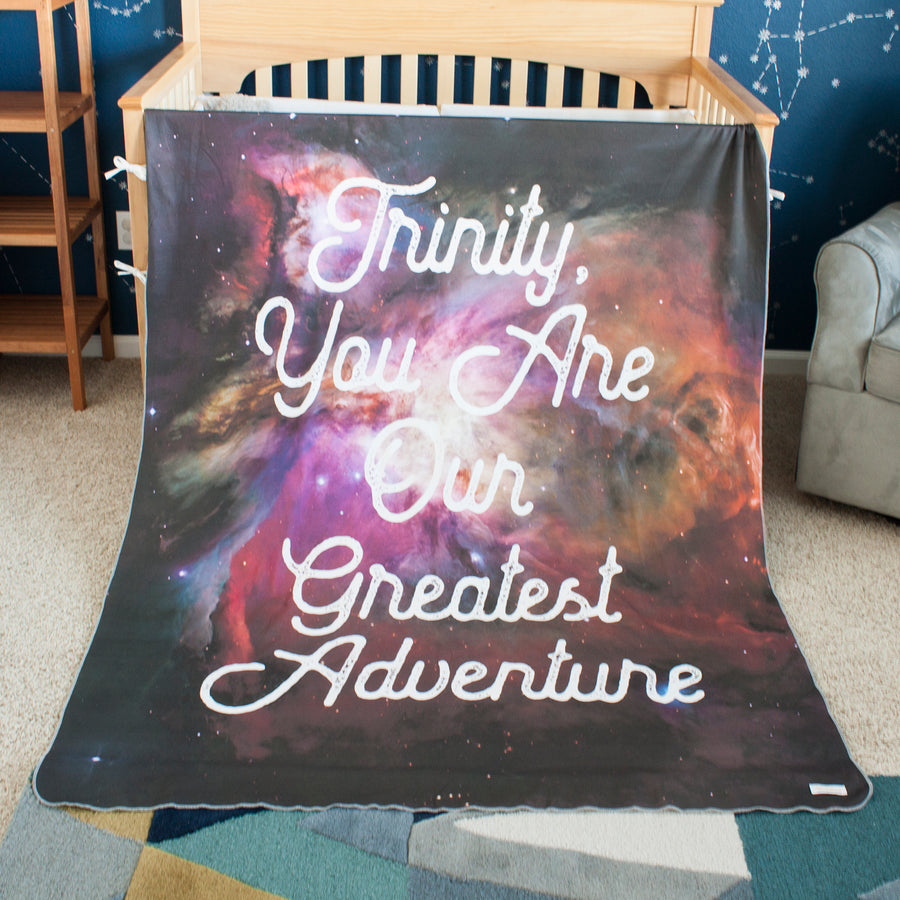 Galaxy Blanket - Red