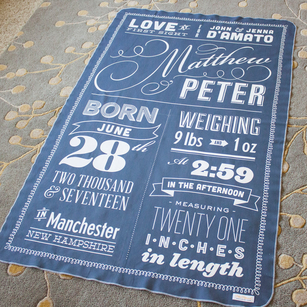 Heirloom Arrival Blanket
