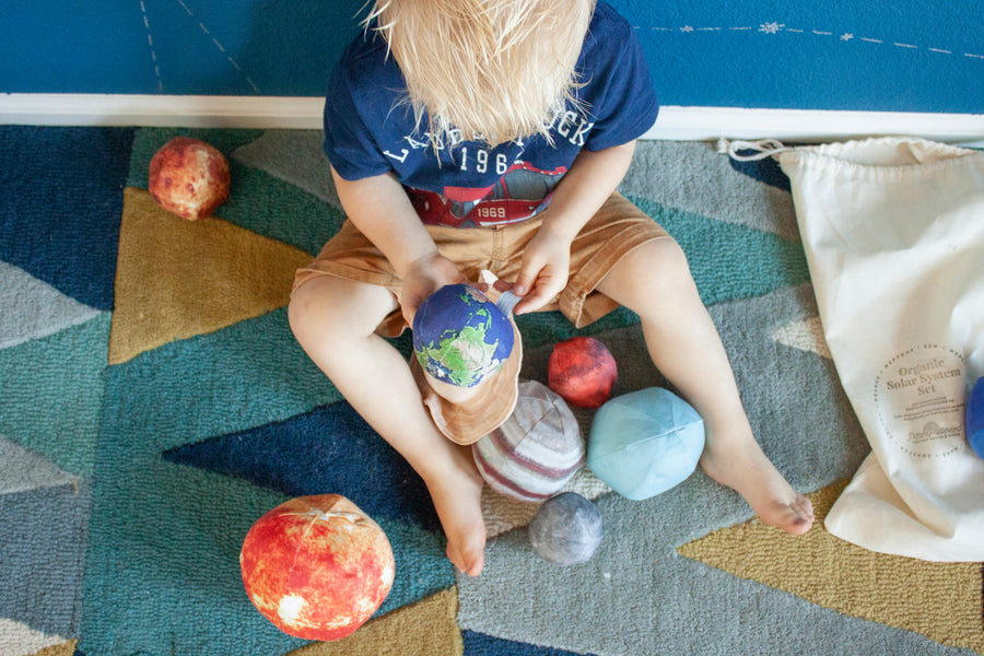 Organic Stuffed Solar System Set