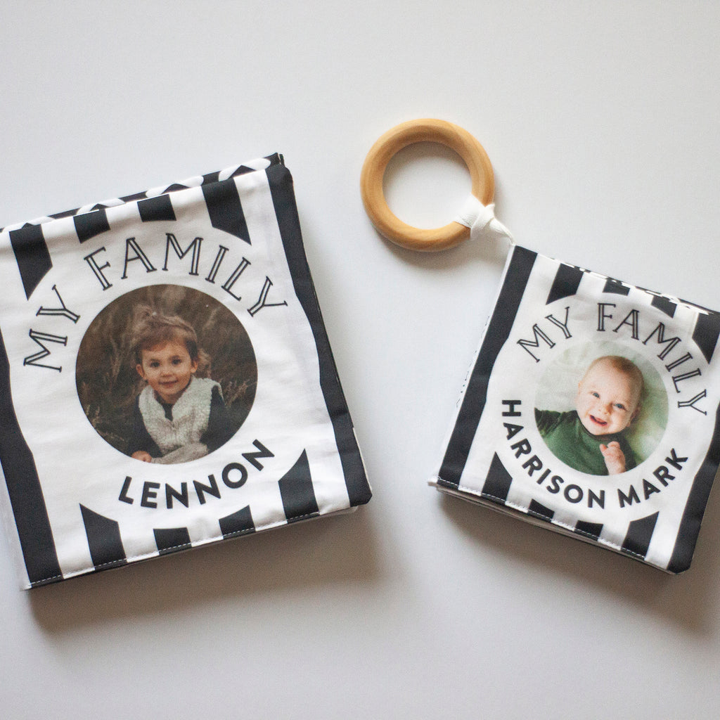 Mini Monochrome Cloth Photo Book