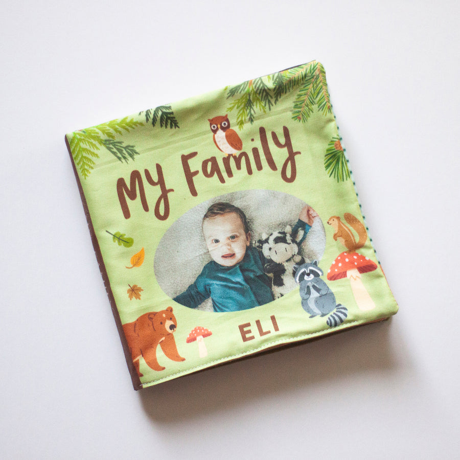 Woodland Cloth Photo Book