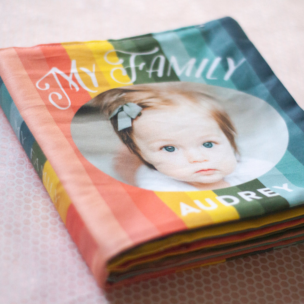 Rainbow Cloth Photo Book