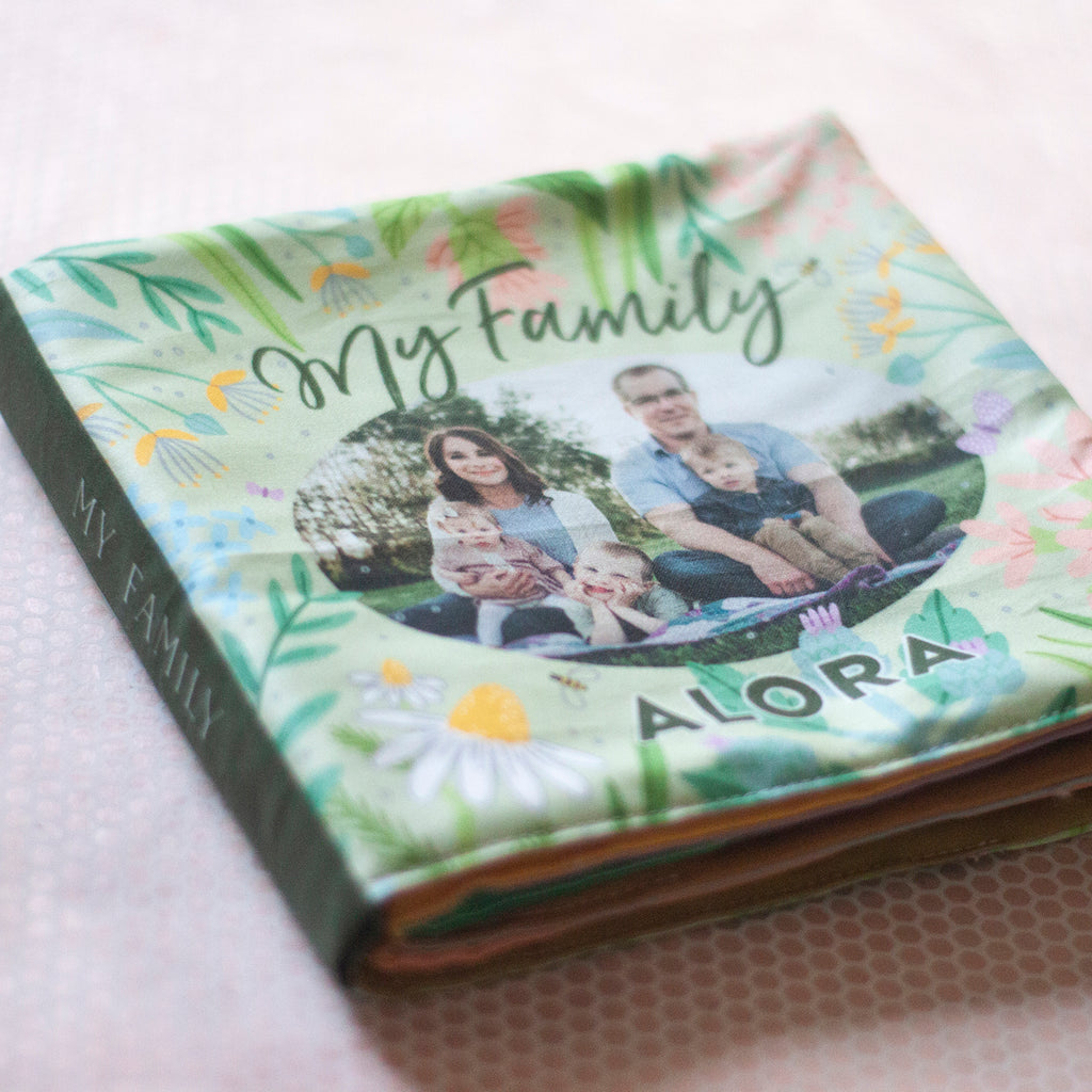 Floral Cloth Photo Book