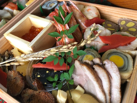 New Year dishes OSECHI