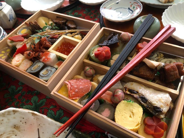 Traditional Japanese New Year Dish: Osechi