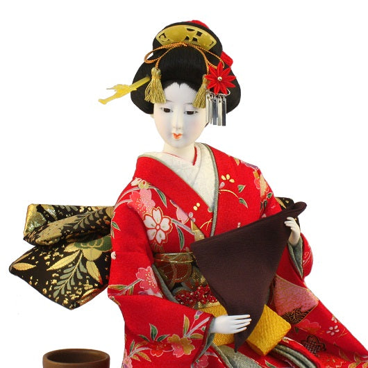 JAPANESE DORESSED DOLL NODATE