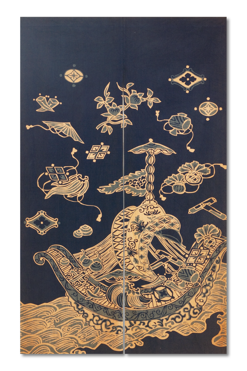 Kasanezome Noren (Japanese Style Door Curtain)
