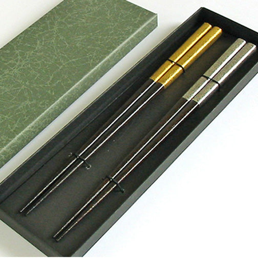 urushi finished chopsticks in paper box