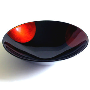japanese urushi lacquered bowl