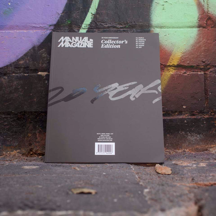 Manual Magazine 20 Year Anniversary | Collector's Edition