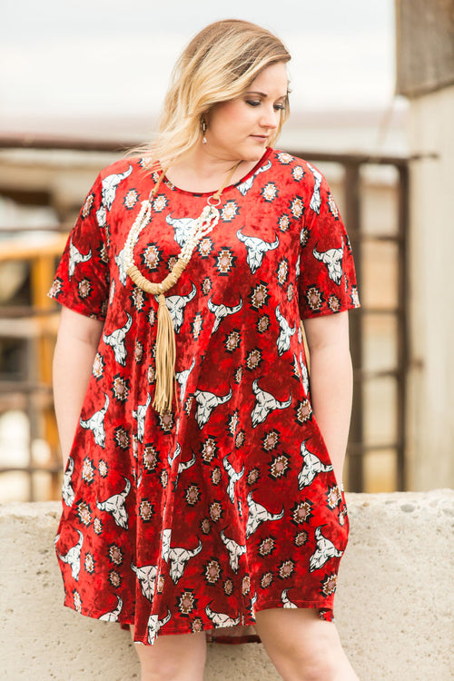 Stockyards Dress Plus Size