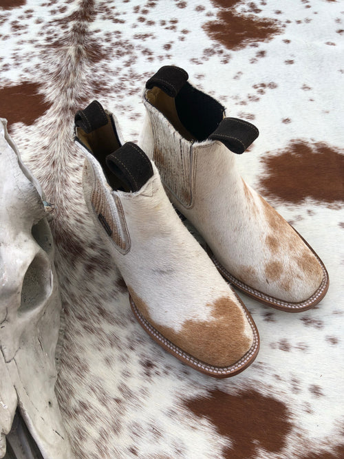 Hair on Hide Boots - Size 6