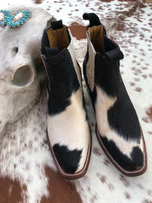 Hair on Hide Boots - Size 7