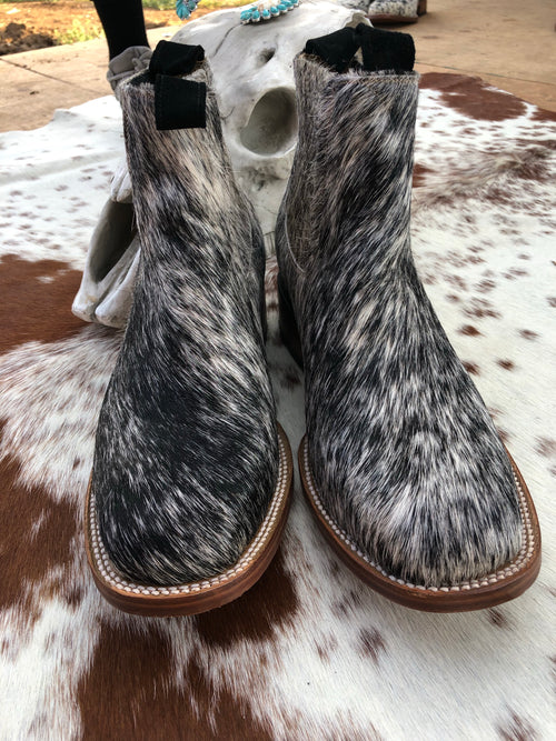 Hair on Hide Boots - Size 8.5