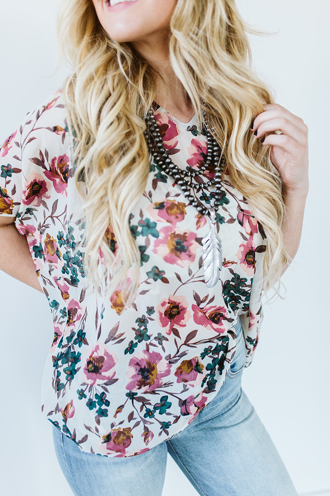 Romantic Rose Blouse