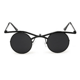 Women's Flip Up Sunglasses Round Lens